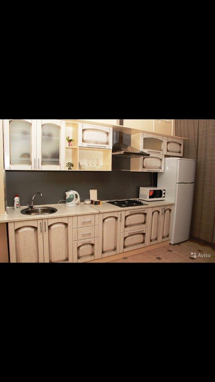 1-ком уютная квартира в центре на Ромашина