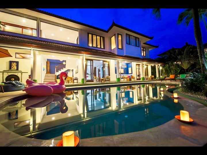 Villa Padi Karo (Villa on the Rice)
