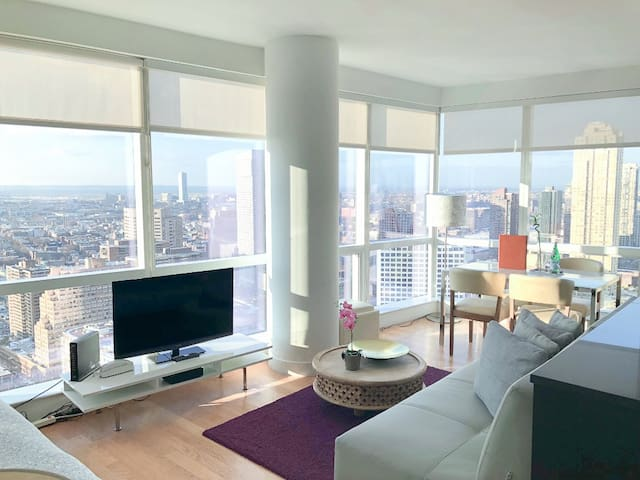 Dharma | Jersey City | Spacious 2BR + City Views