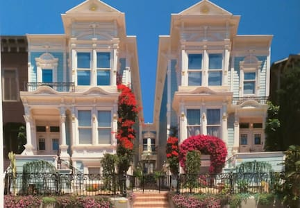 Charming Victorian near Mission, Hayes & Divis - San Francisco - House