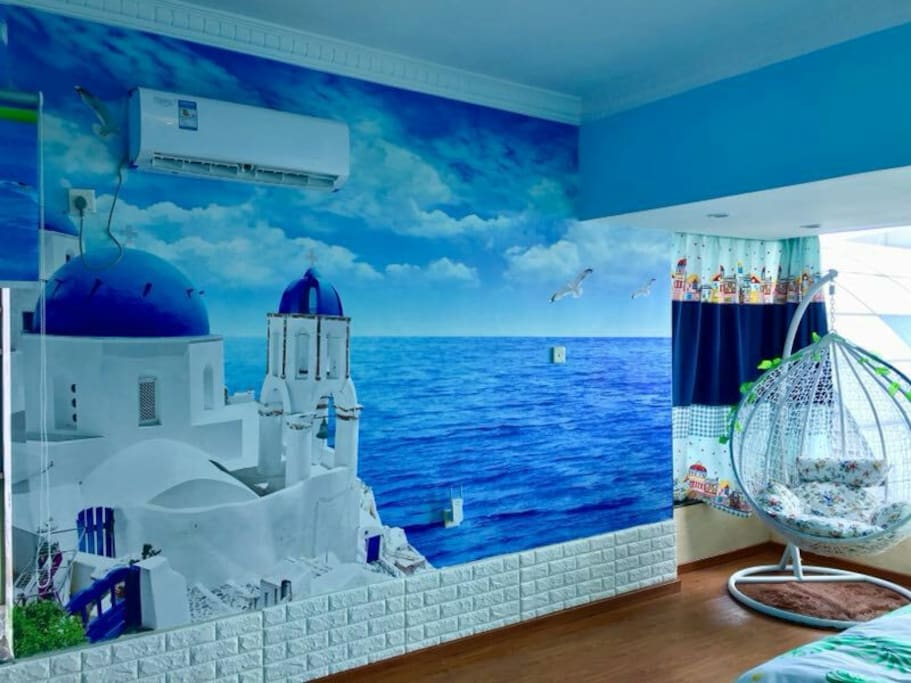 格调与自然融为一体,打造地中海浪漫风情。