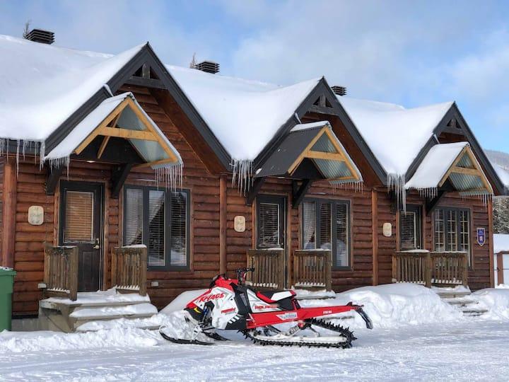 Destination Monts-Valin: Le paradis en bois rond!!
