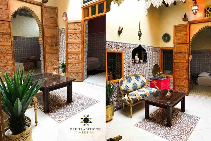 Traditionnel maison Medina