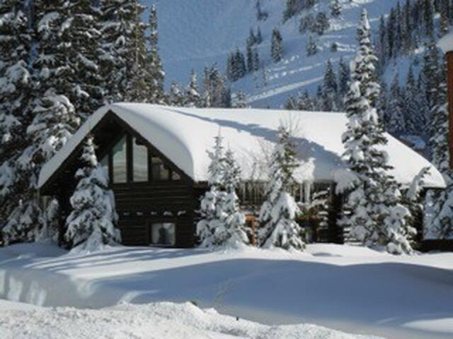 Alta Ski Area Walk Out Ski In - Alta