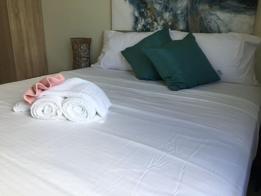 Queen sized inner spring mattress