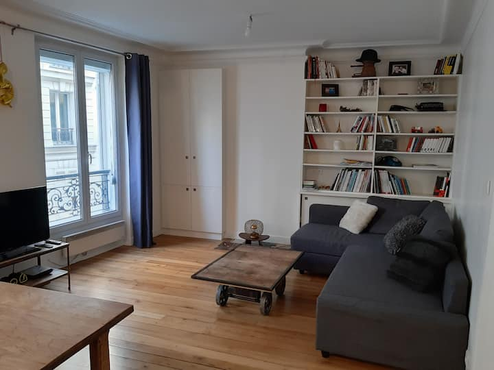 Bel appartement Montmartre Abbesses