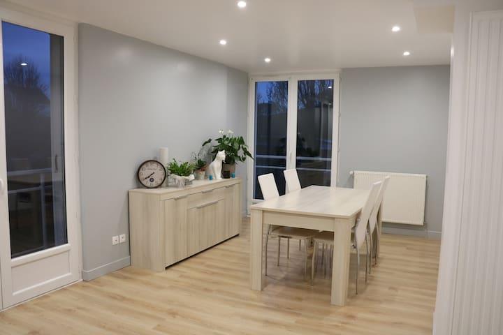 Chaleureux appartement à 2 pas de la plage - Veules-les-Roses - Wohnung