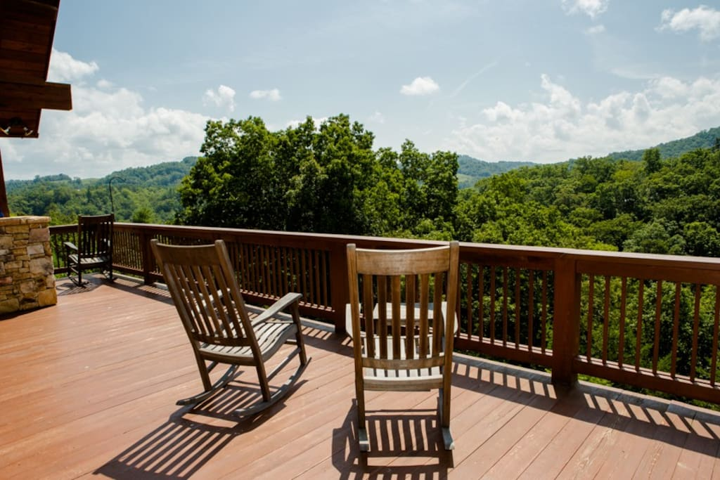 Deck off of main living area