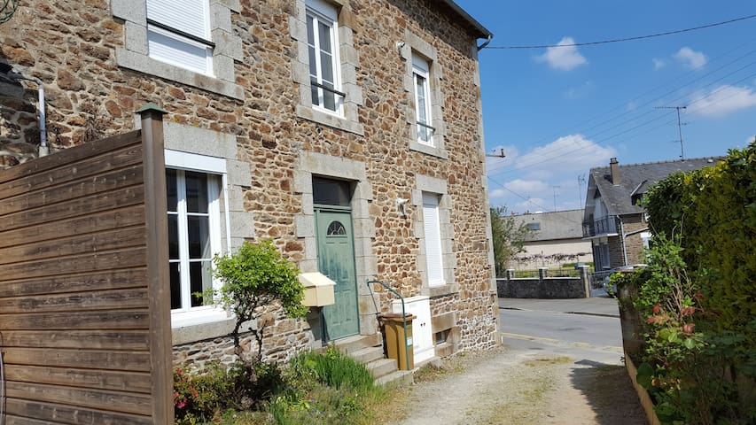 35m2 appartement near Fougères Castle (850m)