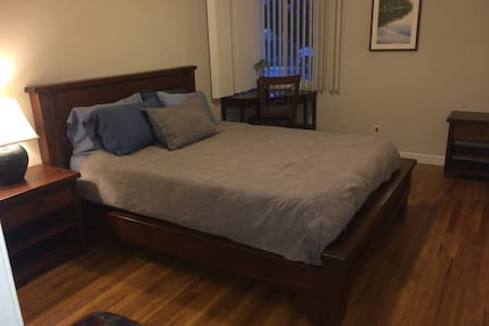 Downtown Mt. View Guest Bedroom - Lejlighed