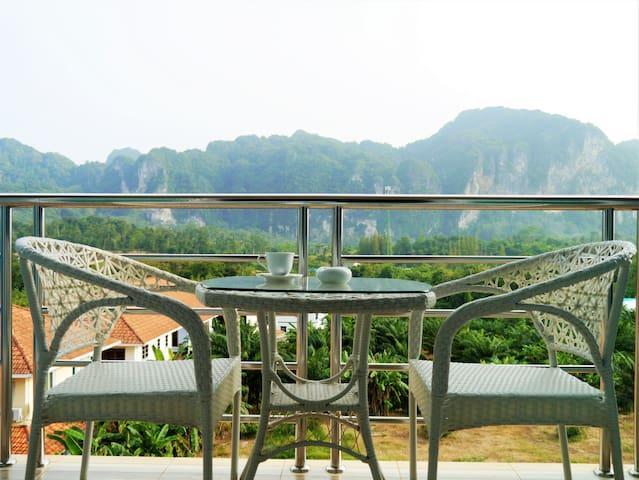 Ancora Blu Double Bed + Breakfast - Ao Nang - Bed & Breakfast