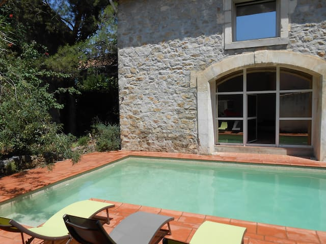Double maison avec piscine privée - Canet - House