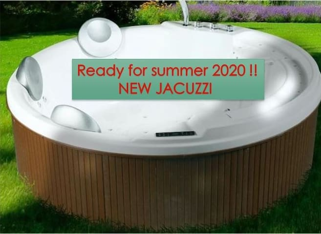 New Jacuzzi area available in summer 2020 !!