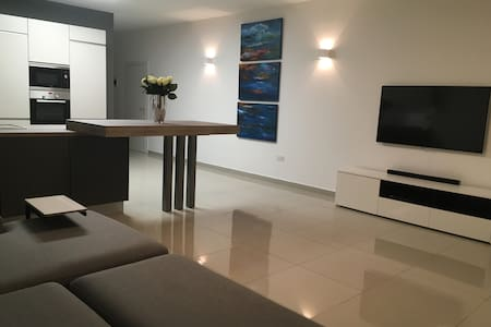 Beautiful Private Room in a Brand New Central Apt. - San Ġiljan