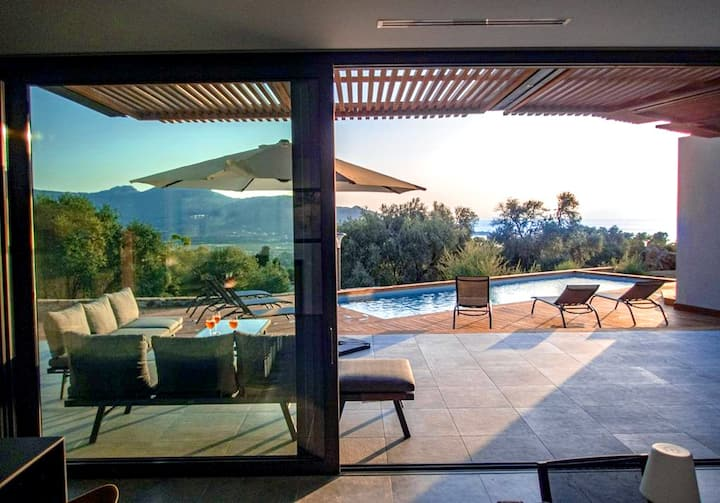 Villa Nannarella, new construction, swimming pool