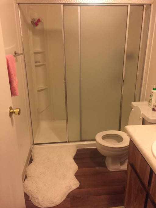 Bathroom for the master bedroom