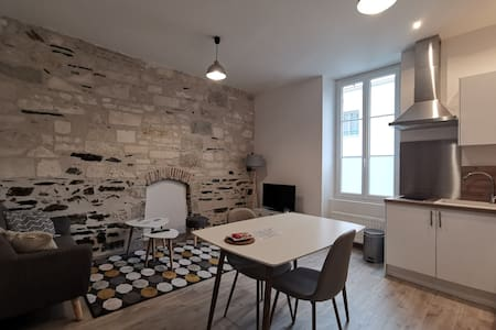 Appartement T2 38m2 quartier gare/UCO