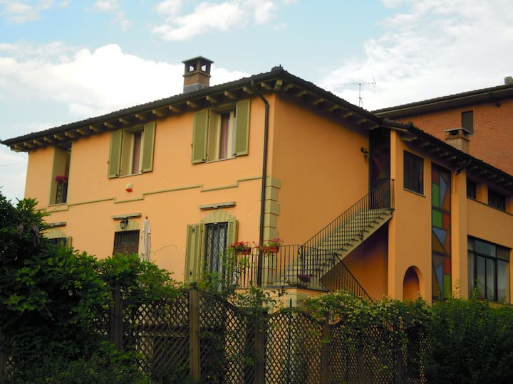 """""""Villa Mery"""" location in Monferrato"""