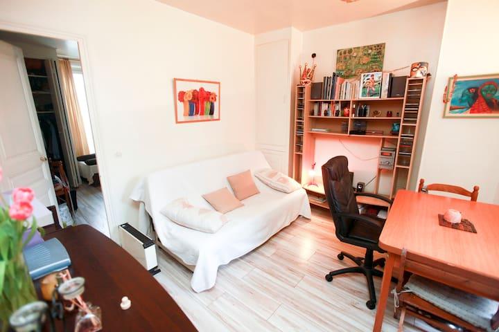 Charming flat (2 rooms) Paris 14th