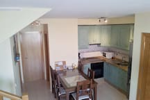 The Fully Equiped Kitchen!
