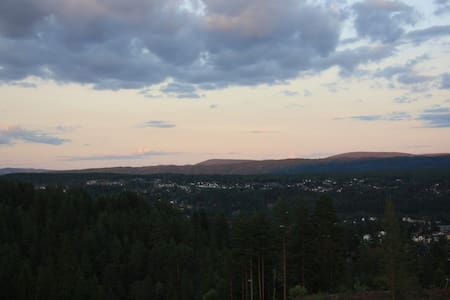 New cottage with fantastic view  - Kongsberg - Haus