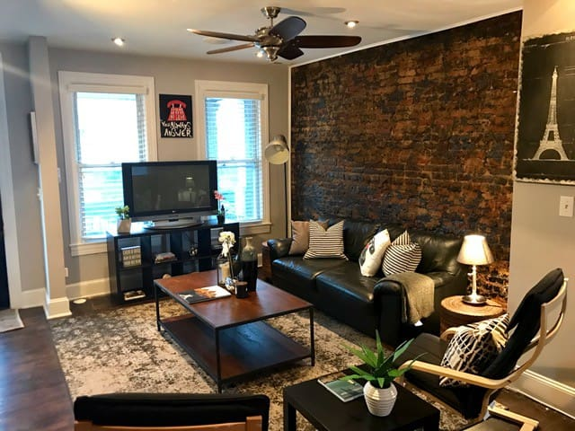 Grey House Interior. The Grey House near US Capital Catholic Howard  Houses for Rent in Washington District of Columbia United States