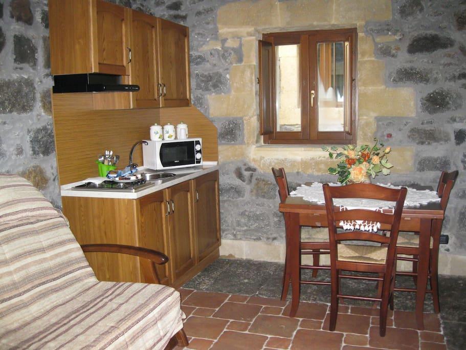 Villa Renna - Residence bilocale-Cucina