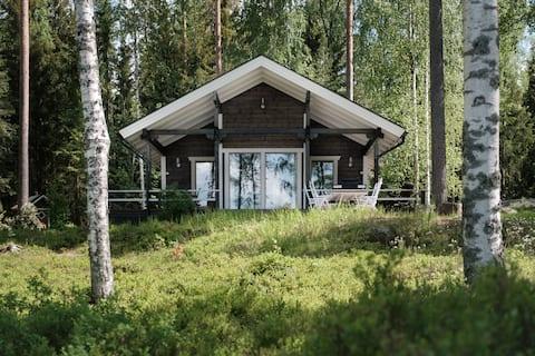 Miia's Modern Lakefront Villa & Sauna House