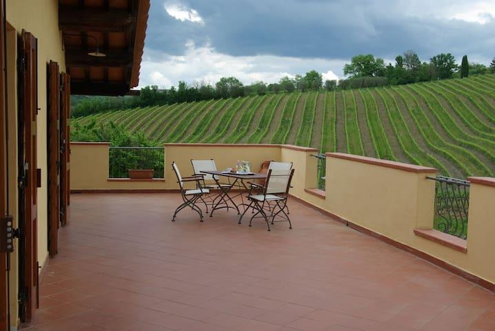 Appartamento vacanza nel Chianti - Montespertoli - Departamento