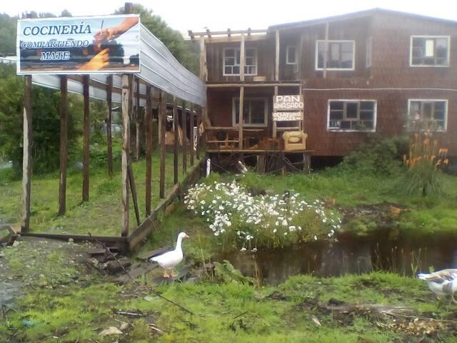 Hospedaje campestre en Chiloé - Quellón - Studentrum