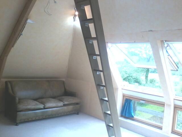 Sunny room☆ Nature Charm'n Hamlet - prétot-sainte-suzanne - Villa