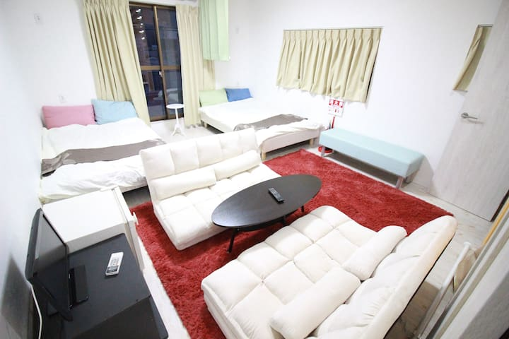 International house OSAKA! private/WIFI/1min sta - Higashinari-ku, Ōsaka-shi - Casa
