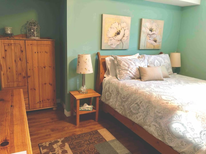 A Golden Mile BNB - Seaglass Suite with kitchen