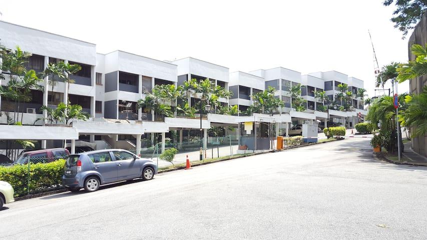 The Garden Apartment @ Bangsar Heights - Kuala Lumpur - Huoneisto