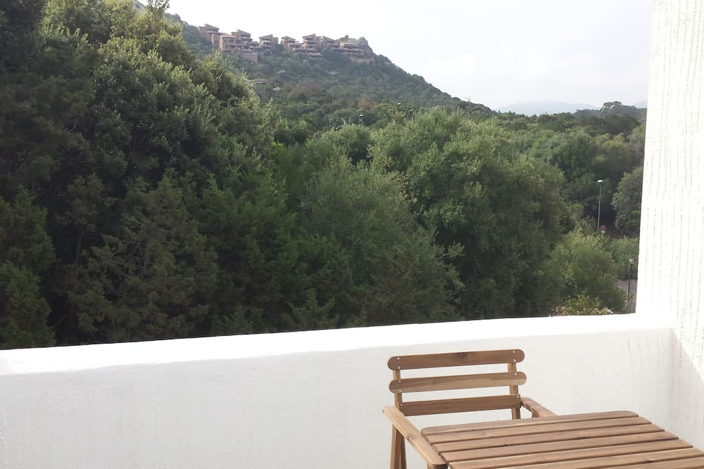 Private Terrace surrounded from the tipical Medditerranean plants