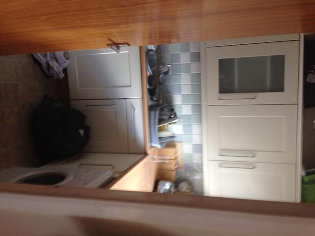 All kitchen facilities - cooking/washing available