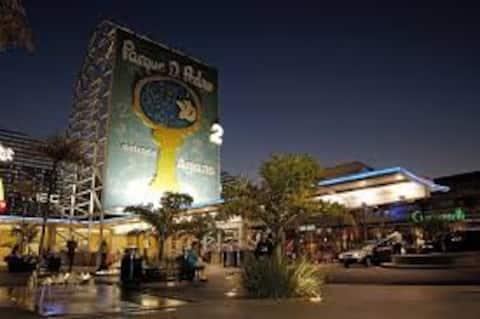 Quarto Refugio  Individual prox Expo center