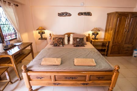 Charming Room with a big bed @ Promtong Mansion - Phra Nakhon Si Ayutthaya
