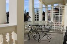 DIODATO Cabbé Golf Bleu, vue mer,terrasse, jardin