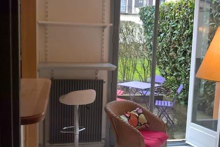 Studio à un kilomètre du château de la Madeleine - Chevreuse - Apartamento