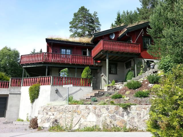 House close to Oslo in countryland. - Nittedal