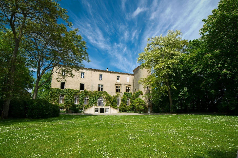 Château La Commanderie Façade sud