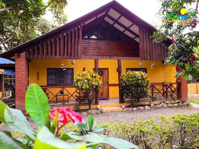 Rancho ecológico Ruiseñor, acogedor y exclusivo.