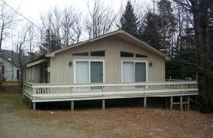 Located on  a quiet street off of Route 100, 1 mile south of Mt. Snow
