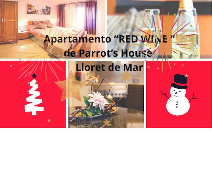 Parrot's House « RED WINE» Apartment with parking