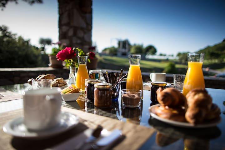 Chambre d'hôte pour 2 personnes - Corte, Haute-Corse - Bed & Breakfast