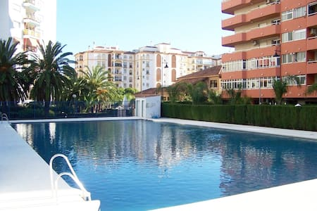 Cosy apartment with seaviews, pool close to beach.