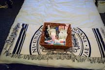 toiletries are provided in case there is something you forgot or decided not to pack