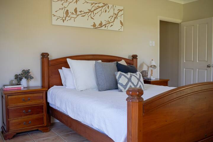 Master suite with king bed and ensuite