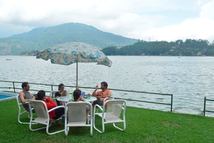 Lake Front Amatitlán (hot tub) - Guatemala City - Alpehytte